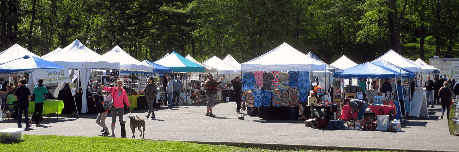 Lake Hopatcong Block Party Including Tents
